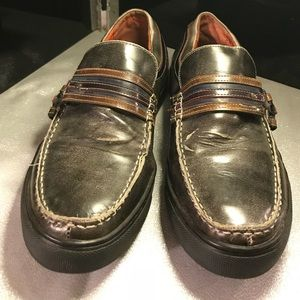 ROBERT WAYNE, Brownish Gray Loafers